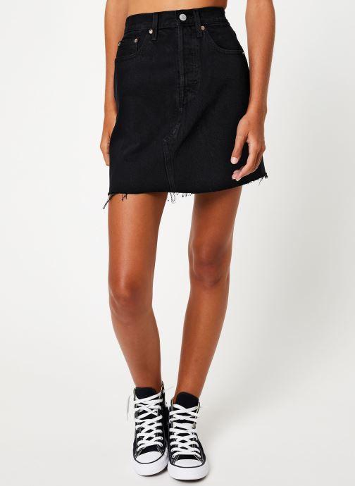 Vêtements Levi's Hr Decon Iconic Bf Skirt W Noir vue détail/paire