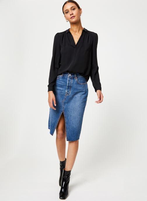 Vêtements Levi's Deconstructed Midi Skirt W Bleu vue bas / vue portée sac