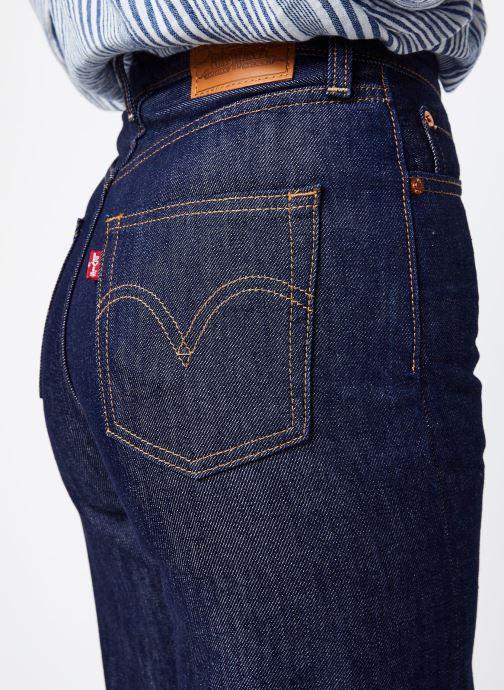 Vêtements Levi's Ribcage Wide Leg W Bleu vue face