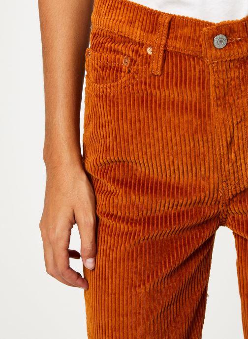 Vêtements Levi's Ribcage Wide Leg W Marron vue face