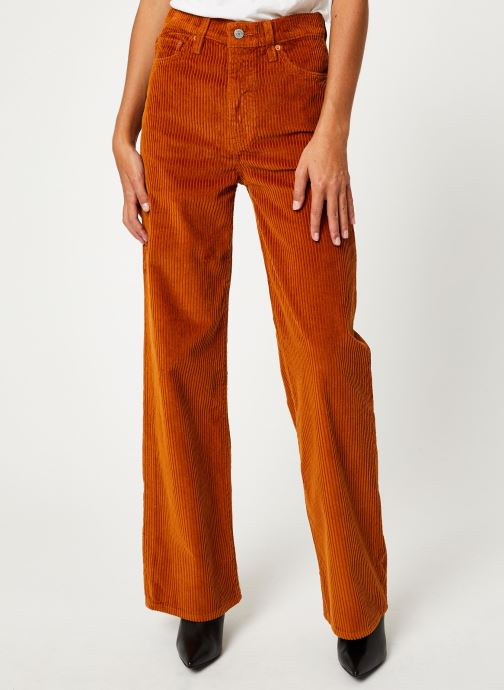 Vêtements Levi's Ribcage Wide Leg W Marron vue détail/paire
