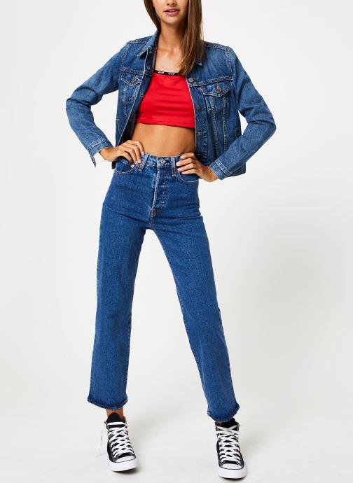 Vêtements Levi's Zoey Mini Cami W Rouge vue bas / vue portée sac