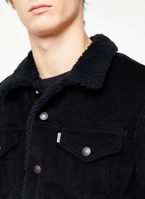 Vêtements Levi's Type 3 Sherpa Trucker M Noir vue face