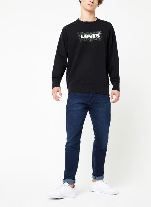 Vêtements Levi's Graphic Crew B M Noir vue bas / vue portée sac