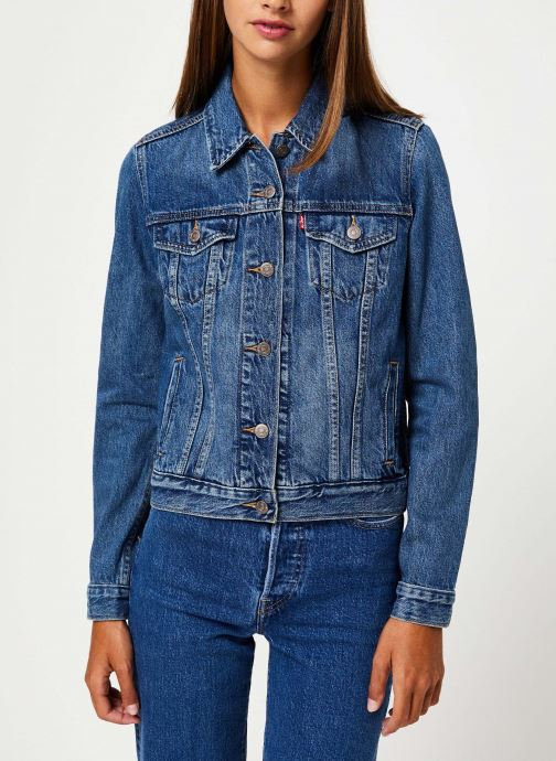 Vêtements Levi's Original Trucker W Bleu vue droite