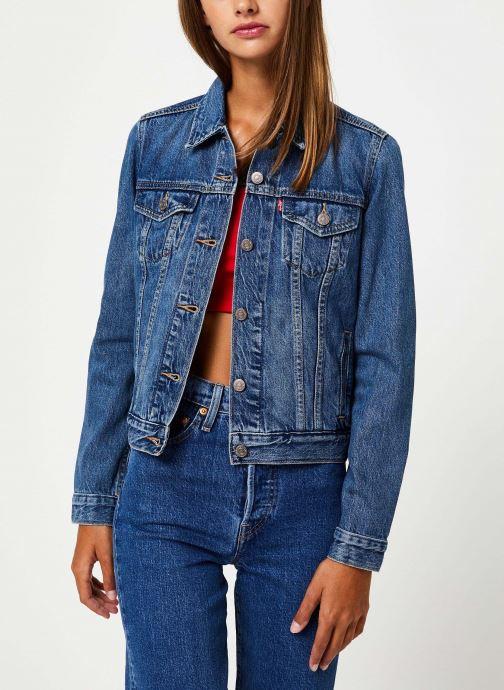 Vêtements Levi's Original Trucker W Bleu vue détail/paire