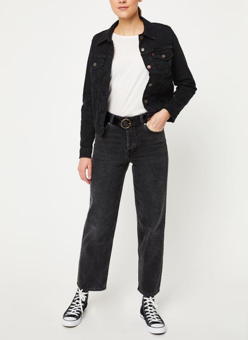 Vêtements Levi's Original Trucker W Noir vue bas / vue portée sac