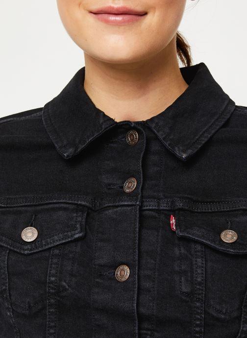 Vêtements Levi's Original Trucker W Noir vue face
