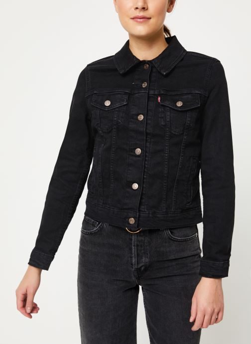 Vêtements Levi's Original Trucker W Noir vue droite