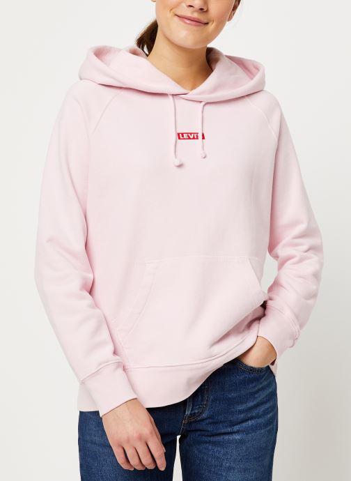 Vêtements Levi's Graphic Sport Hoodie W Rose vue droite