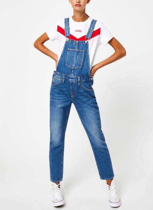 Vêtements Levi's Original Overall W Bleu vue bas / vue portée sac