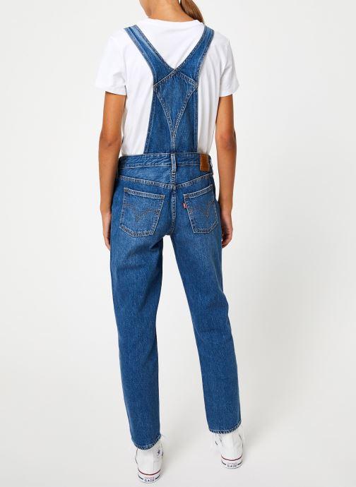Vêtements Levi's Original Overall W Bleu vue portées chaussures