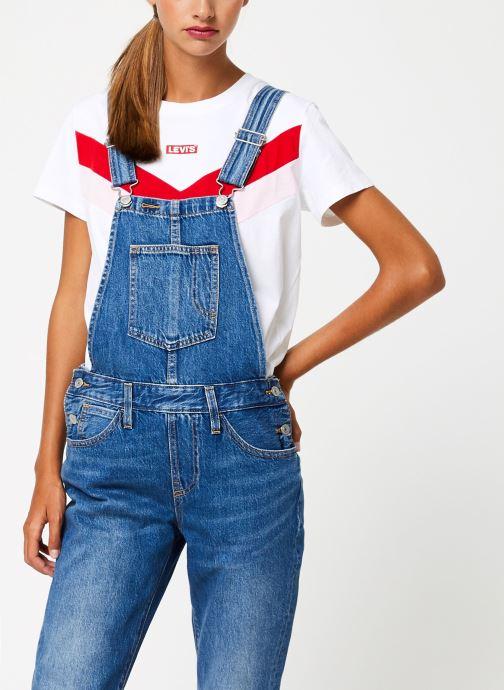 Vêtements Levi's Original Overall W Bleu vue droite