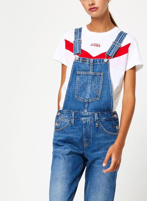 Vêtements Levi's Original Overall W Bleu vue détail/paire