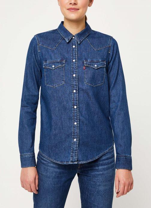 Vêtements Levi's Ultimate Western W Bleu vue droite