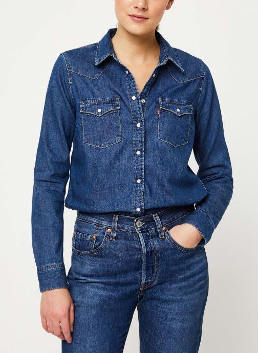 Vêtements Levi's Ultimate Western W Bleu vue détail/paire