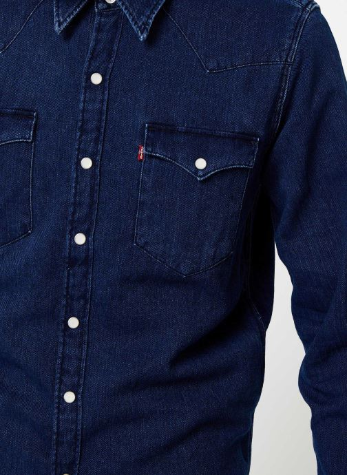 Kleding Levi's Barstow Western M Blauw voorkant