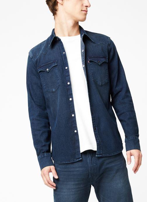 Vêtements Levi's Barstow Western M Bleu vue détail/paire