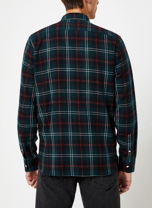 Vêtements Levi's Sunset 1 Pocket Shirt M Marron vue portées chaussures