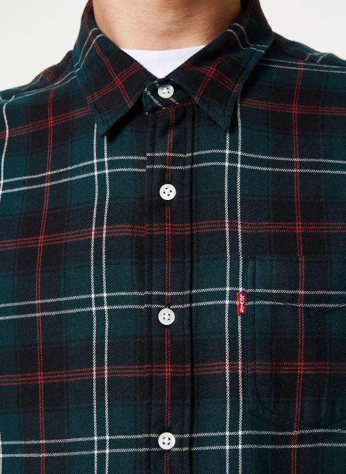 Vêtements Levi's Sunset 1 Pocket Shirt M Marron vue face