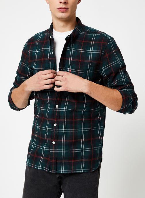 Vêtements Levi's Sunset 1 Pocket Shirt M Marron vue droite