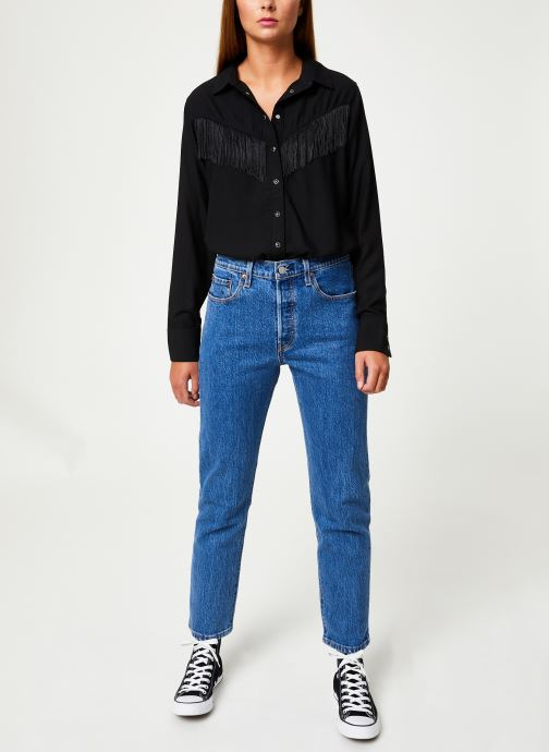 Vêtements Levi's Selita Western W/ Fringe W Noir vue bas / vue portée sac