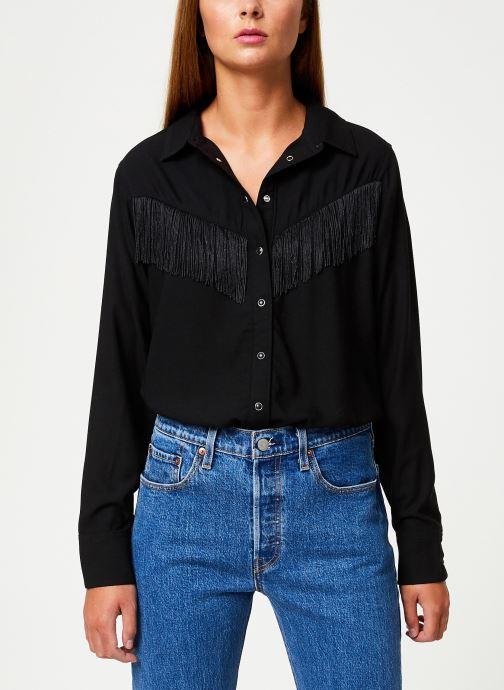 Vêtements Levi's Selita Western W/ Fringe W Noir vue droite