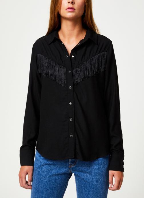 Vêtements Levi's Selita Western W/ Fringe W Noir vue détail/paire