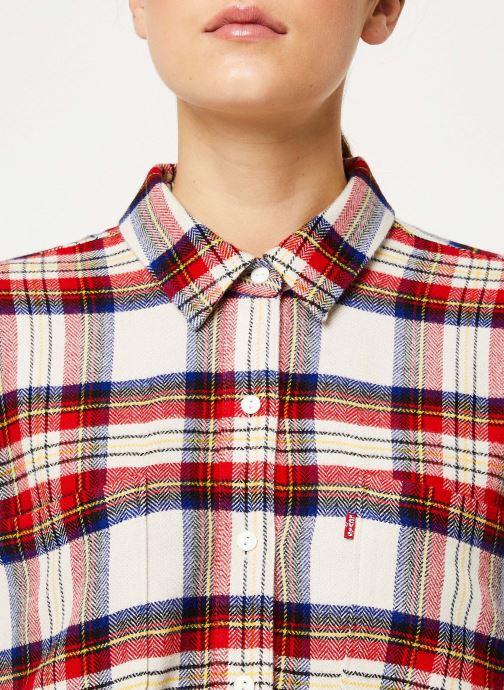 Vêtements Levi's The Utility Shirt W Rouge vue face