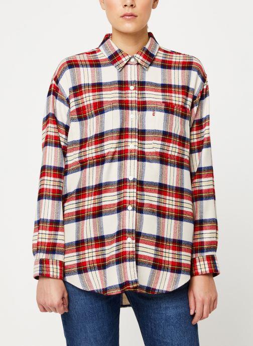 Vêtements Levi's The Utility Shirt W Rouge vue droite