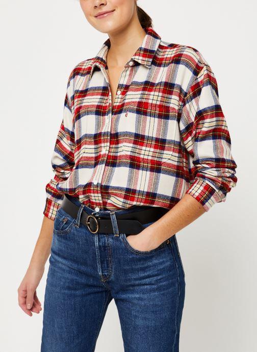 Vêtements Levi's The Utility Shirt W Rouge vue détail/paire