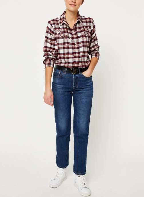 Kleding Levi's Dori Western Shirt W Rood onder