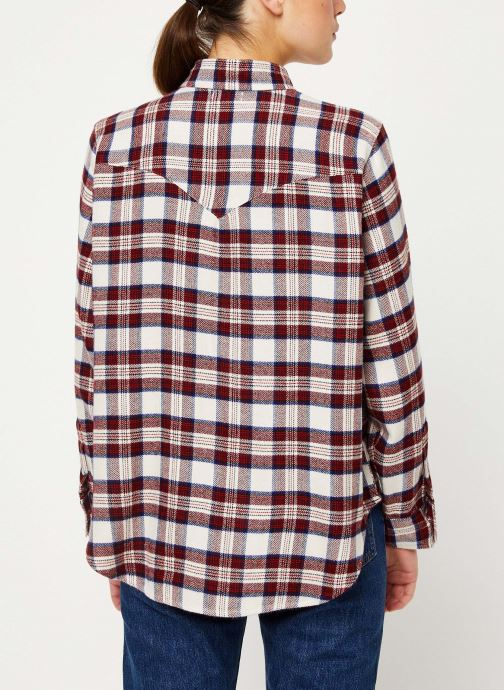 Kleding Levi's Dori Western Shirt W Rood model