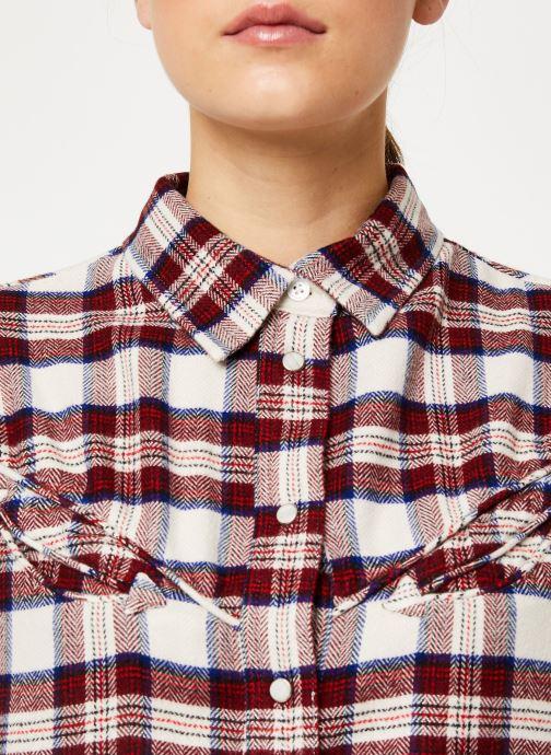 Kleding Levi's Dori Western Shirt W Rood voorkant