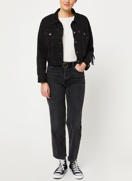 Vêtements Levi's Future Vintage Trucker W Noir vue bas / vue portée sac