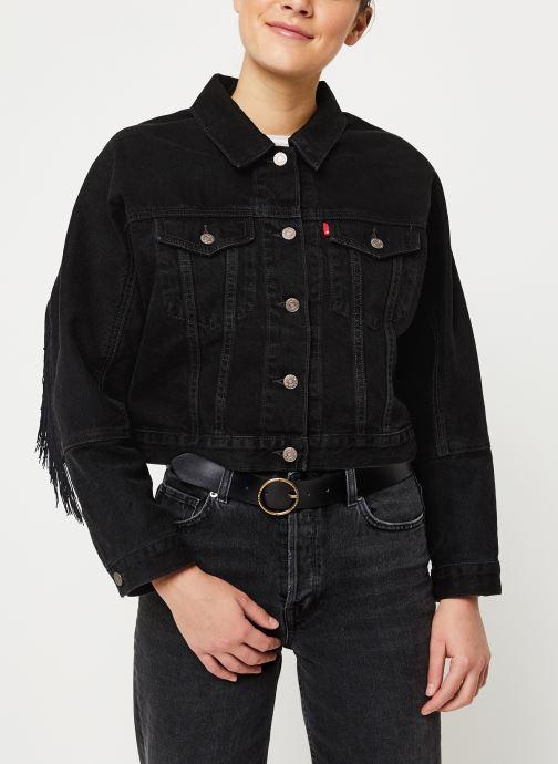 Vêtements Levi's Future Vintage Trucker W Noir vue droite