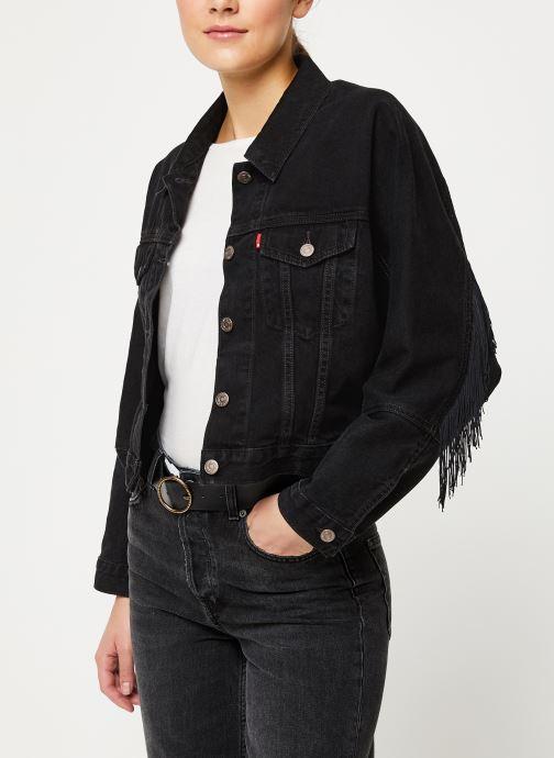 Vêtements Levi's Future Vintage Trucker W Noir vue détail/paire