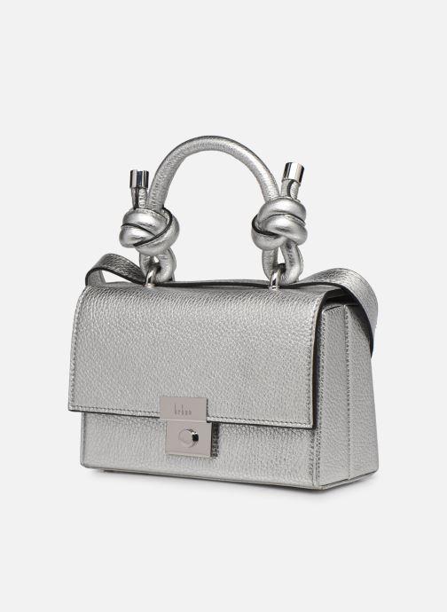 Bolsos de mano Behno Mary Bag Mini Plateado vista del modelo