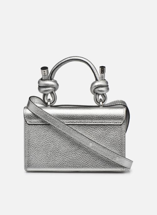 Bolsos de mano Behno Mary Bag Mini Plateado vista de frente