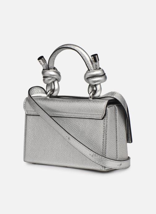 Bolsos de mano Behno Mary Bag Mini Plateado vista lateral derecha