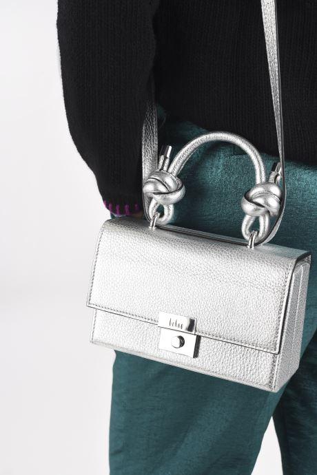 Bolsos de mano Behno Mary Bag Mini Plateado vista de abajo