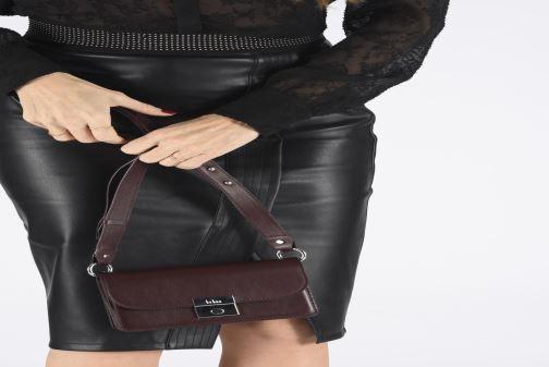 Bolsos de mano Behno Amanda Belt Bag - Crossbody Vino vista de abajo