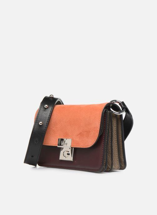 Handtaschen Behno Amanda Belt Bag - Crossbody Suede braun schuhe getragen