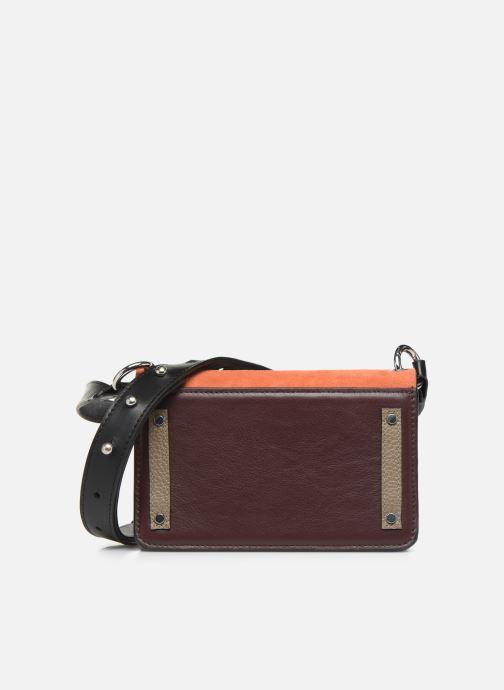 Handtaschen Behno Amanda Belt Bag - Crossbody Suede braun ansicht von vorne