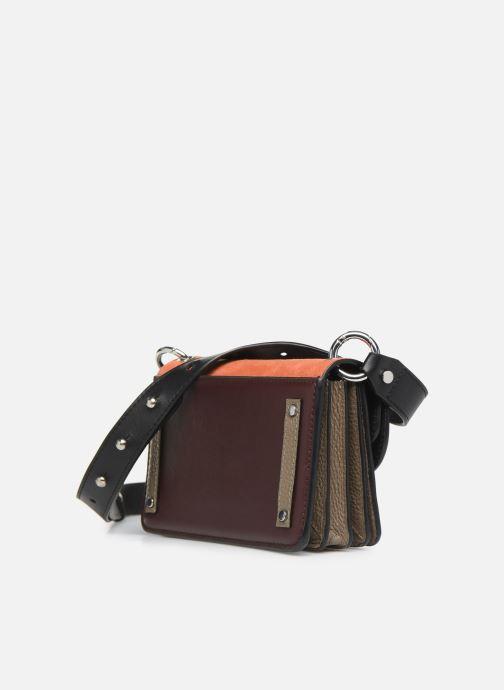 Handtaschen Behno Amanda Belt Bag - Crossbody Suede braun ansicht von rechts