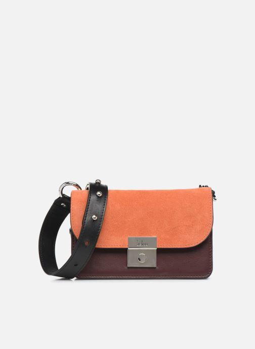 Handtaschen Behno Amanda Belt Bag - Crossbody Suede braun detaillierte ansicht/modell