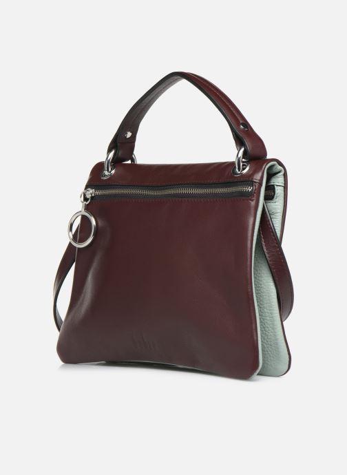 Bolsos de mano Behno Hunter Mini Flip-Flop Bag Vino vista del modelo