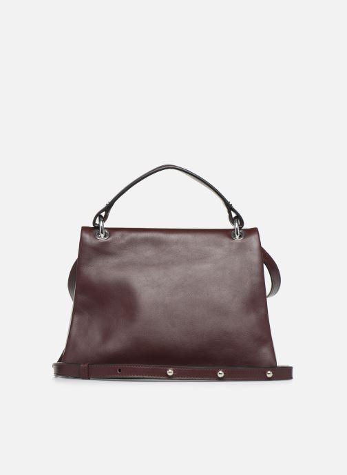 Handbags Behno Hunter Mini Flip-Flop Bag Burgundy front view