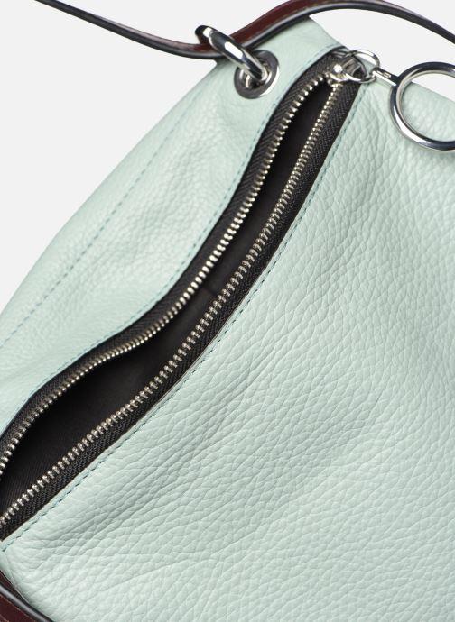 Handbags Behno Hunter Mini Flip-Flop Bag Burgundy back view
