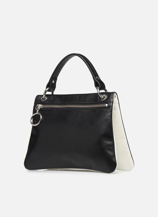 Handtaschen Behno Hunter Mini Flip-Flop Bag schwarz schuhe getragen